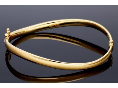 Bratara fixa aur 14K bijuterii dama