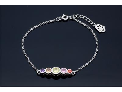 Bratara  reglabila bijuterii argint 925
