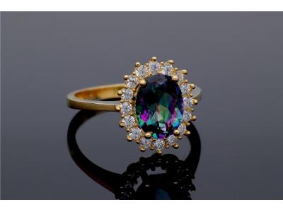 Cadou aur inel  dama bijuterii online
