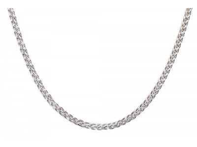 Cadouri bijuterii aur alb lant model unisex