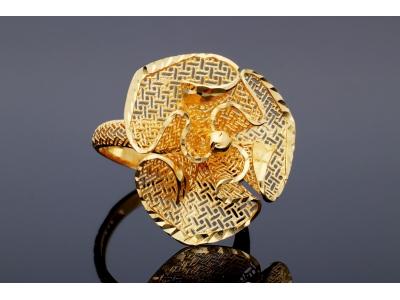 Cadouri bijuterii aur inel model filigran