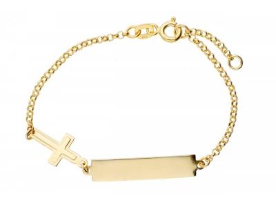 Cadouri bijuterii bratara copii aur 14k