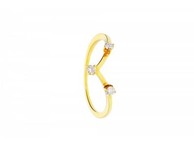 Cadouri bijuterii cu diamante inel aur 18k