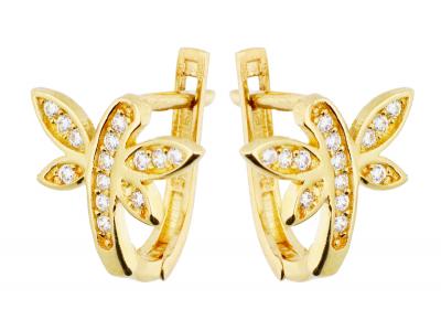 Cercei aur 14k bijuterii cadou libelula