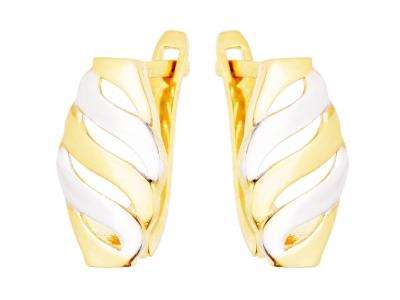 Cercei aur 14k bijuterii dama