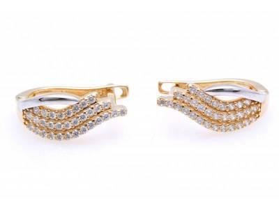 Cercei aur 14K bijuterii dama online