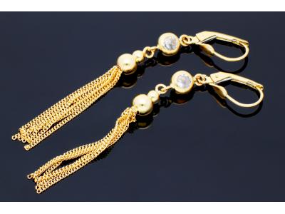 Cercei aur 14K bijuterii online