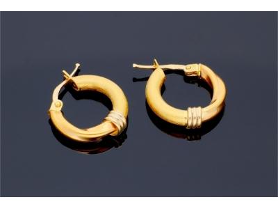 Cercei aur 14K cadouri bijuterii