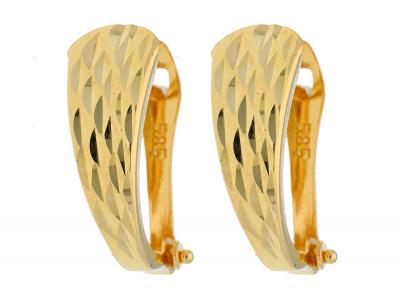 Cercei aur 14K galben bijuterii online
