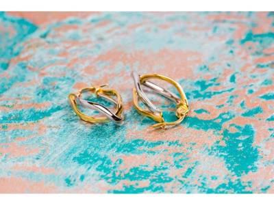 Cercei aur bijuterii dama 14K