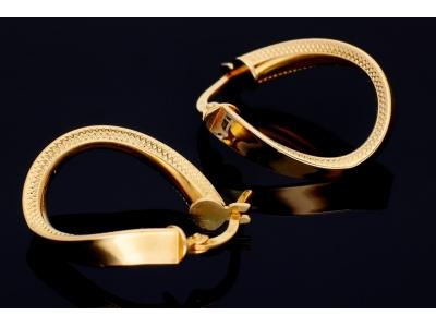Cercei din aur 14K bijuterii dama online