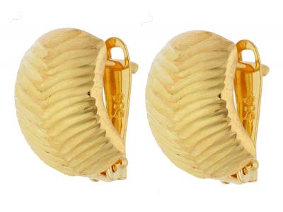 Cercei din aur 14K galben bijuterii dama