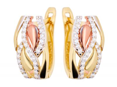 Cercei din aur pentru dama bijuterii online