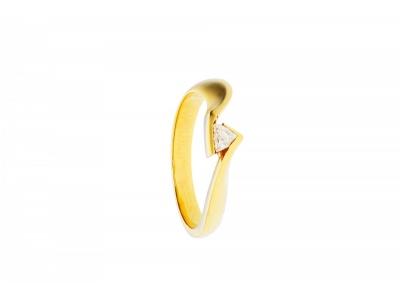 Colectia bijuterii cu diamante inel de logodna aur 18k
