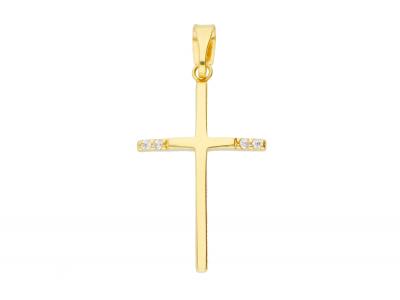 Cruciulita aur 14k bijuterii cadou.59