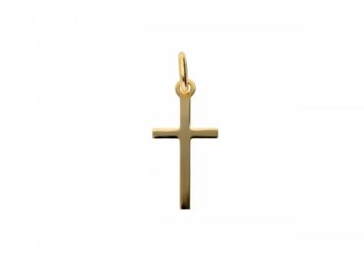 Cruciulita din aur galben