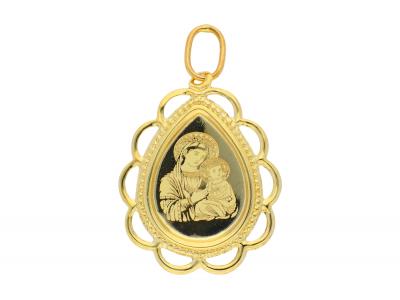 Iconita din aur 14K galben