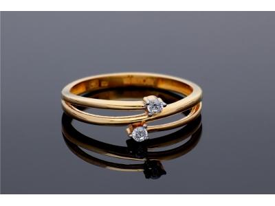 Inel aur 14K bijuterii dama
