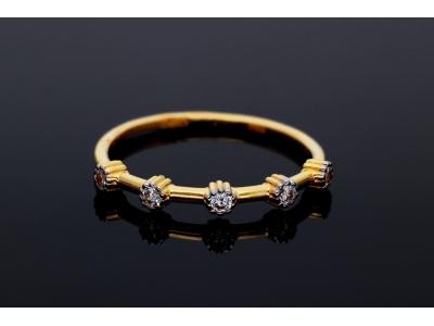 Bijuterii aur - Inele dama aur 14K galben