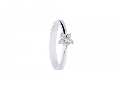 Inel aur 18k cu diamante cadouri bijuterii