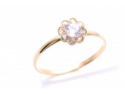 Inel aur cadouri bijuterii cu zirconia pentru copii