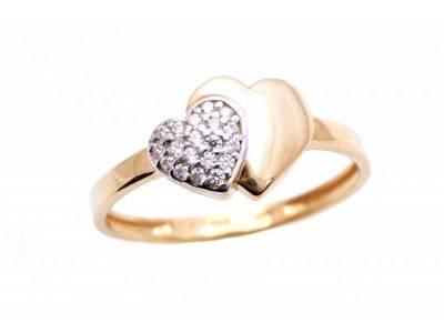 Inel aur cadouri bijuterii inima