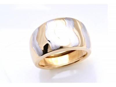 Inel bijuterii aur 14K model deosebit