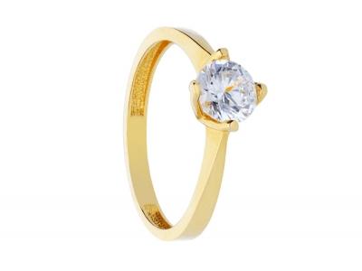 Inel de logodna aur 14K bijuterii online