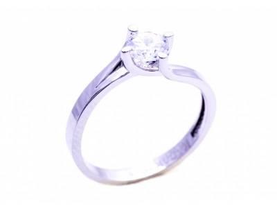Inel de logodna bijuterii aur 14 k