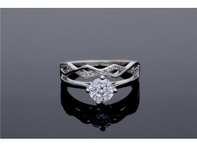 Inel de logodna cadouri bijuterii argint