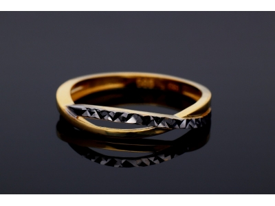 Inel din aur 14K bijuterii dama online