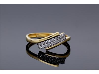 Inel din aur 14K bijuterii dama