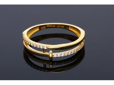Inel din aur 14K   bijuterii online
