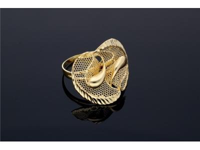 Inel model filigran bijuterii aur 14k