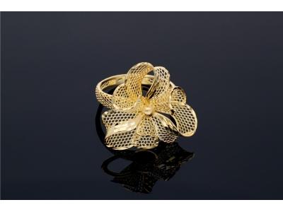 Inel model filigran cadouri bijuterii aur