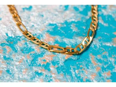 Lant aur 14K model unisex bijuterii