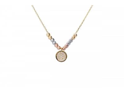 Lant cu pandant aur 14k bijuterii cadouri femei