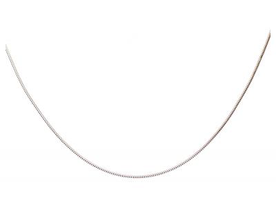 Lantisor  aur alb  model semirigid