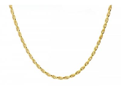 Lantisor model unisex bijuterii aur 14k