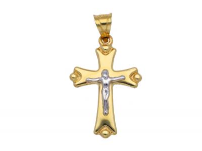 Medalion aur 14k cruce