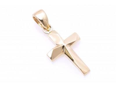 Pandant cruce bijuterii aur 14K