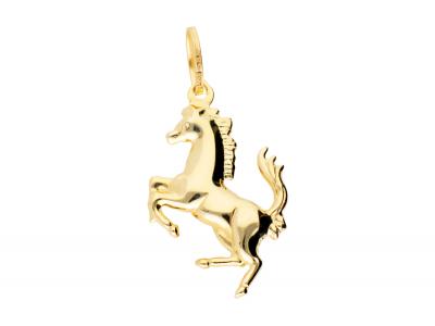 Pandantiv calut bijuterii aur cadou