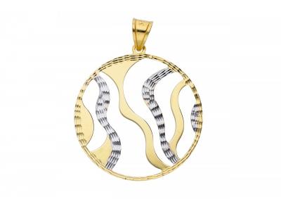 Pandantiv din aur bijuterii dama