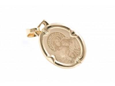 Pandantiv din aur model iconita