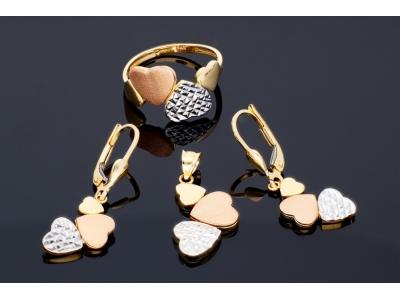 Set bijuterii dama aur 14K